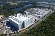 生産設備を増設するテルモの工場(山口市)