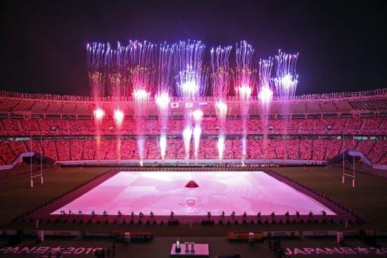4年に1度のW杯本大会が9月20日に開幕し、東京スタジアムには大勢のファンが詰めかけた