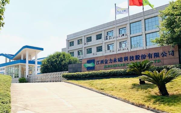 習近平国家主席が視察した江西省のレアアース関連企業