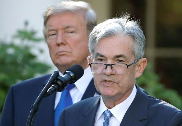 米国ではトランプ大統領がパウエルFRB議長に利下げを求める異例の事態が続く。=ロイター