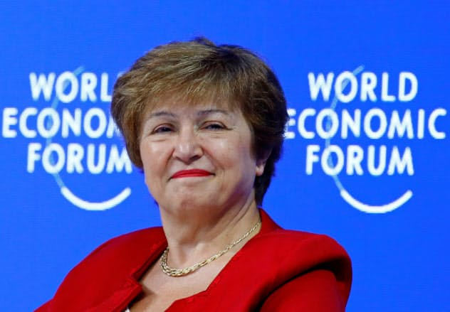 IMFの専務理事に、ブルガリア出身のゲオルギエワ氏が就任することになった=ロイラー