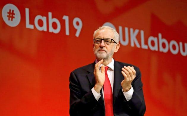 労働党のコービン党首はEU懐疑派で、本音では「離脱派」だとされている=ロイター
