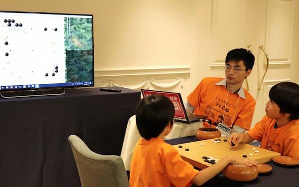 AIで若い才能を育てる試みが広がる(8月、東京都港区)