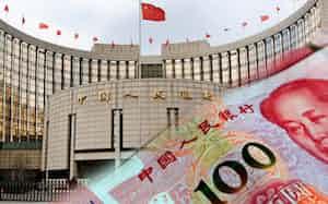 中国通貨の人民元が急落し、本土マネーが香港に逃避している