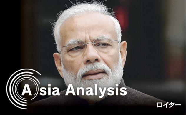 モディ首相は「アクト・イースト」を掲げ、東アジアや東南アジアとの連携強化を掲げるが…(2019年6月)=ロイター