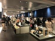 商業施設「COREDO室町テラス」で27日に開業する台湾発の「誠品生活」の日本1号店(24日、東京・中央)