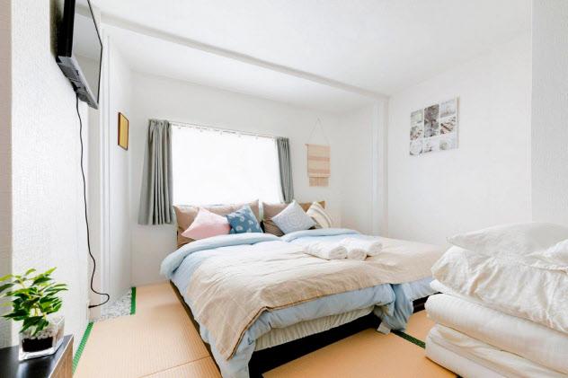 日本で展開している民泊の部屋(悠悠美宿提供)