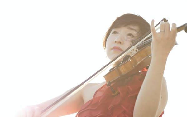 フランス音楽とともに日本の現代作品を得意とするバイオリニストの伊藤(尾池)亜美