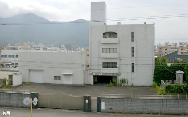 工藤会の本部事務所(26日、北九州市小倉北区)=共同