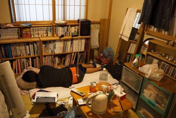 グレゴール・シュナイダーの作品「喪失」(神戸市内)