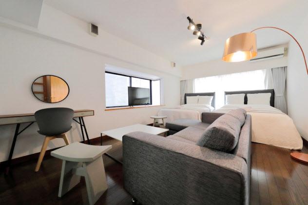 グランドゥースは都市圏を中心に民泊事業を展開している