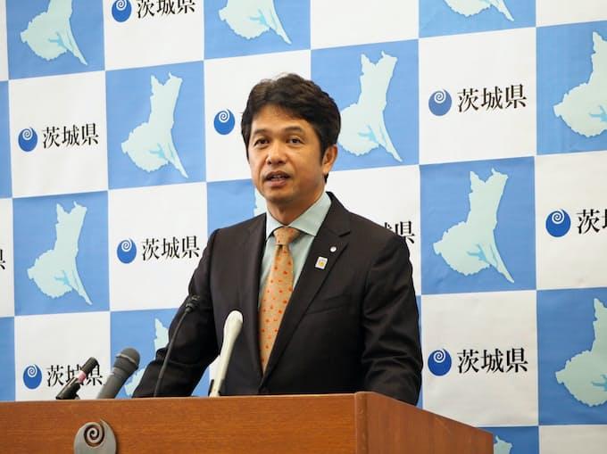 茨城県知事就任2年 話題の施策で議会と対立も: 日本経済新聞