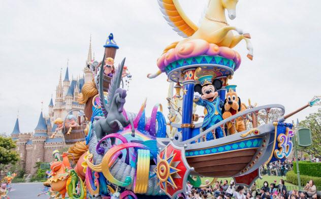 テーマパークの好調は続きそうだ(東京ディズニーランド(C)Disney)