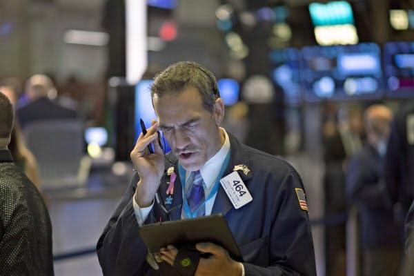 報道を受け、米株式相場は下落に転じた(ニューヨーク証券取引所)=AP
