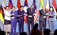 9月のRCEP閣僚会合では大きな進展は見られなかった(バンコク)=石井理恵撮影