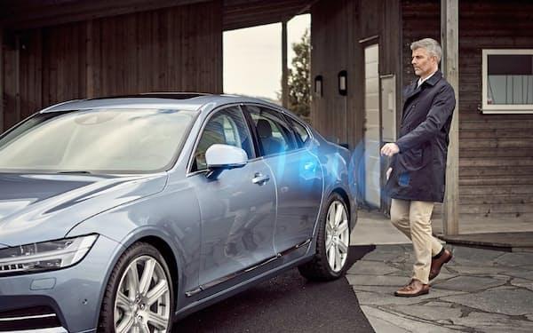欧米自動車大手ではボルボ・カーなどが「スマートキー」を採用している(イメージ)=同社提供