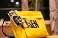 「鉄顔コレクション」は専用のカードケースに取り付けて持ち運ぶこともできる