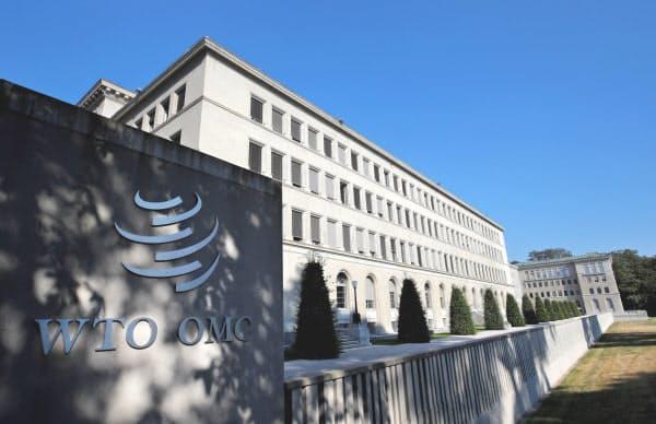 日韓はWTOでも火花を散らしている(スイス・ジュネーブの本部)=ロイター