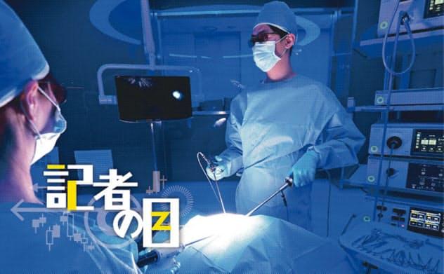 オリンパスは外科手術向けの内視鏡に力を入れている