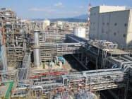 住化は2018年に大型プラントを完成させたばかり(愛媛県新居浜市)