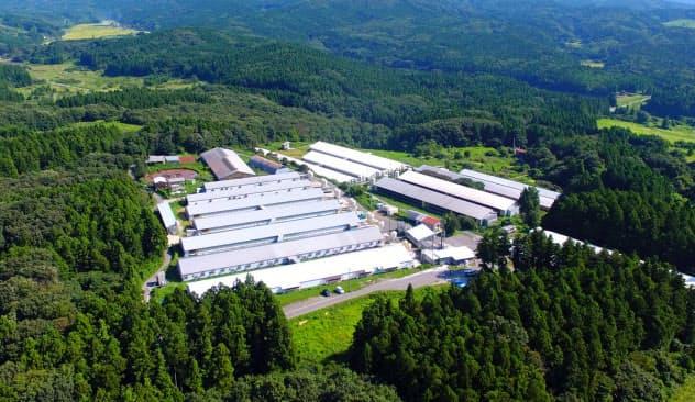JGAPの認証を取得した平田牧場の農場(山形県酒田市)