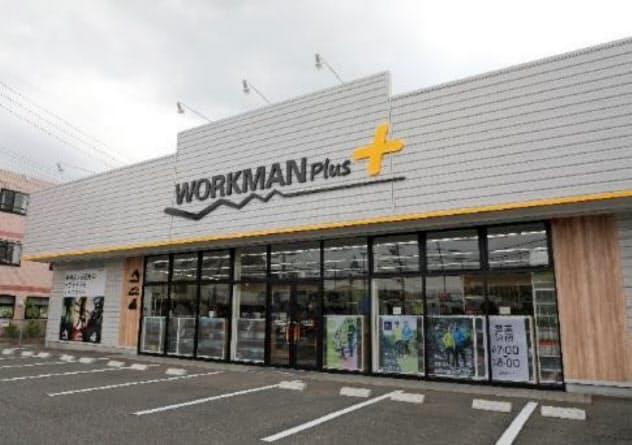 全国で出店を増やしている「ワークマンプラス」
