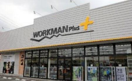 全国で出店を増やしている新業態「ワークマンプラス」(南仙台店)