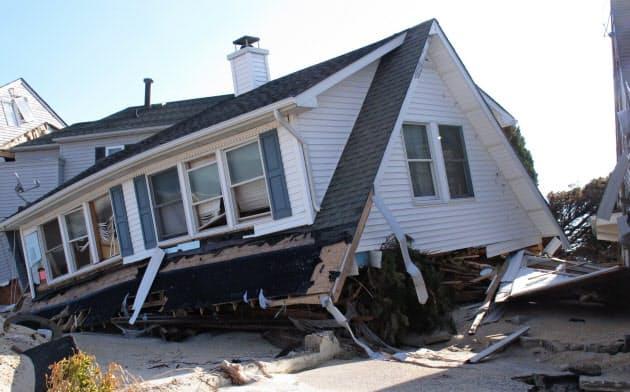 住宅ローン市場に気候変動が影響を与える恐れがある=AP