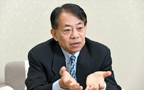 日本政府がADBの次期総裁候補に指名した浅川雅嗣内閣官房参与=岩田陽一撮影