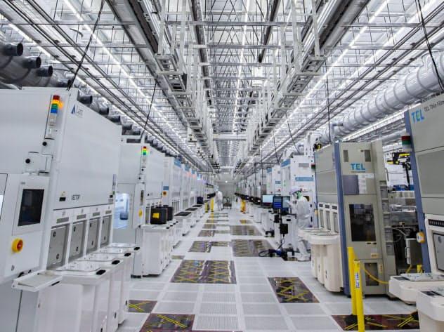 米マイクロンは旧エルピーダから受け継いだ工場に新棟を建設(広島県東広島市)