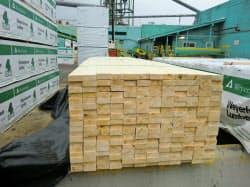 カナダ産製材品の輸入は減っている