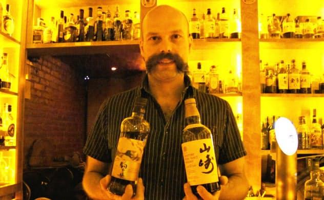「日本のウイスキーメーカーのカイゼン精神は素晴らしい」と話す、カッパー・アンド・オークのダン・ニコラエスクさん