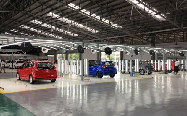 商船三井ロジスティクスはフィリピンで完成車の一時保管・点検事業を始めた