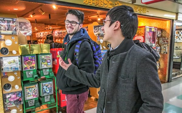 otomoは、東京都中野区の商店街を巡るツアーも用意する