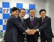 福岡県久留米市などと連携し、実用化に向けた最終運用試験を始める(久留米市)
