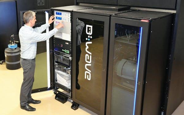 ディーウエーブシステムズの量子コンピューター