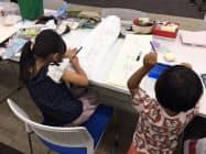 埼玉りそな銀行はセミナールームを子どもの居場所として活用している(浦和美園出張所、さいたま市)
