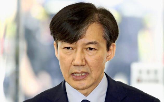韓国法相が辞任 疑惑抱え就任、1カ月余りで