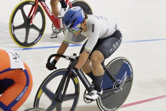 梶原は日本の自転車中長距離のエース=日本自転車競技連盟提供