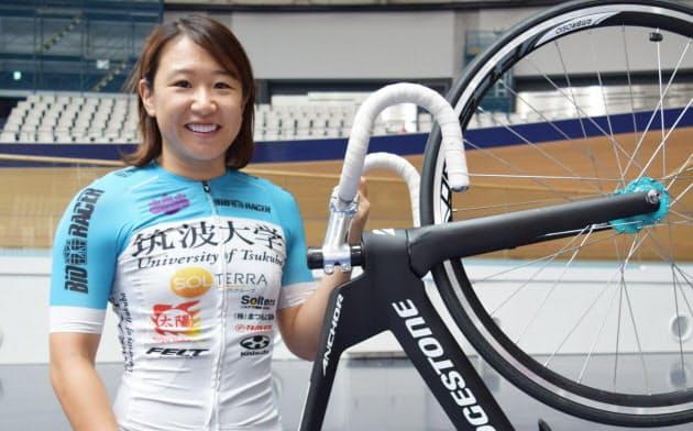 東京五輪に向け、8月から会場のある静岡県伊豆市に引っ越して練習に励む