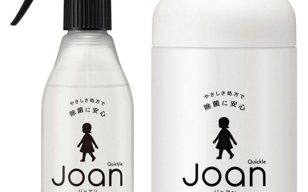 肌への安心感を高めた新シリーズ「クイックル Joan」を投入し、消費増税後の需要縮小を緩和する