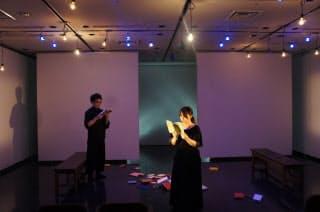 船内で上演するシリーズの第8回、久野那美作・演出の「Port」