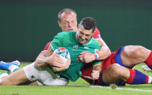 アイルランドが勝ち点11、3試合を終え首位に
