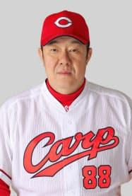 広島の佐々岡真司投手コーチ