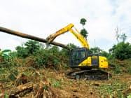 インドネシア工場は建設・土木や林業向け油圧ショベルを製造する