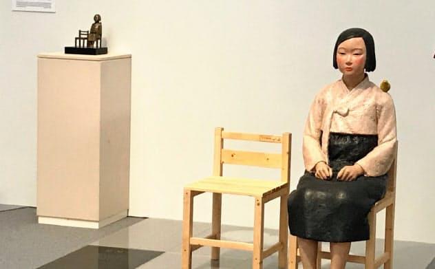 開幕3日で中止された、あいちトリエンナーレの企画展「表現の不自由展・その後」の会場