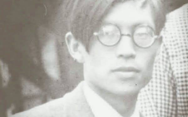 教員時代の中島敦(神奈川近代文学館蔵)