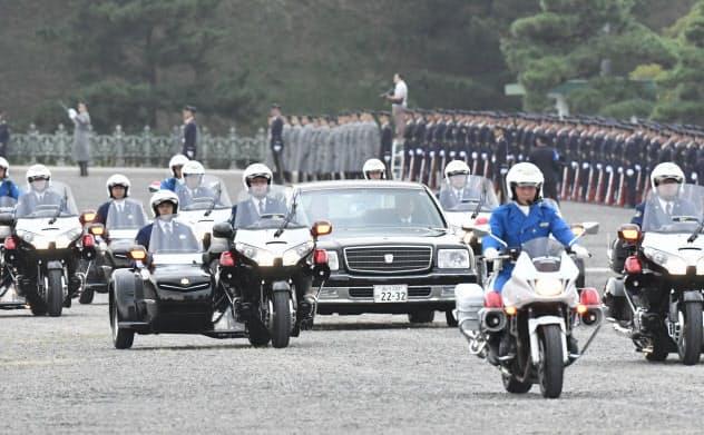 即位パレード 11月10日に延期 政府方針