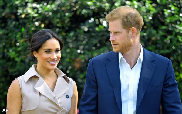 英ハリー王子夫妻の新聞業界を変革しようとする「作戦」は果たして成功するか=AP