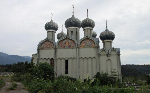 「新潟ロシア村」の跡地は今もなお残されている